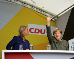 Angela Merkel in Steinhude