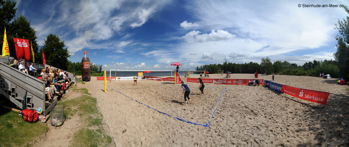 Beachvolleyball Panorama