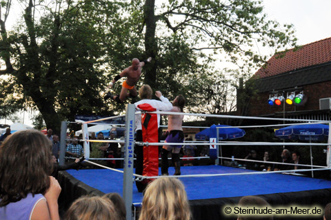 Wrestling - Open Air am Meer