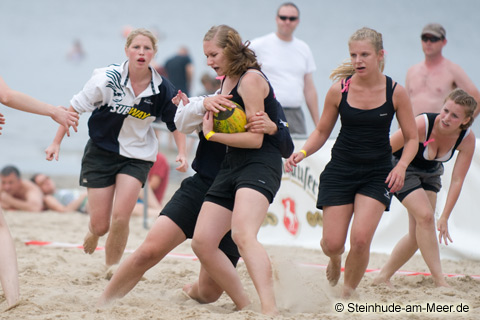 Beachrugby Damen