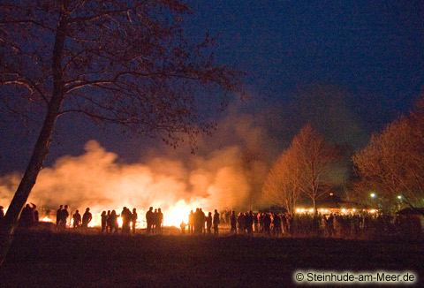 Osterfeuer 2006