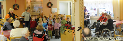 Adventssingen Kindergarten Großenheidorn