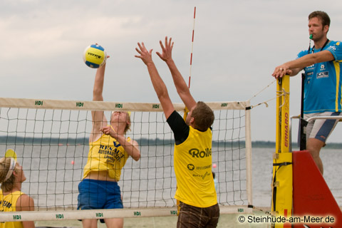 Beachvolleyball Beach Team
