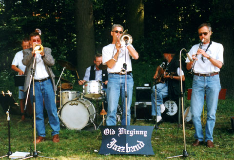 Old Virginny Jazzband beim Sunset Jazz