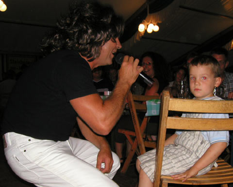 Thomas Anders in Steinhude...