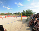Beachvolleyball Pano